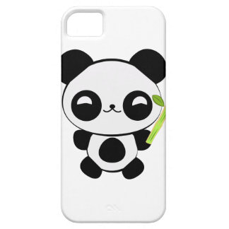 Happy Baby Panda iPhone Case
