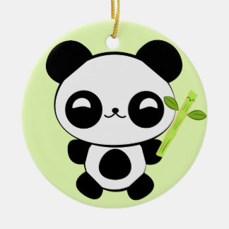 Happy Baby Panda Ornament