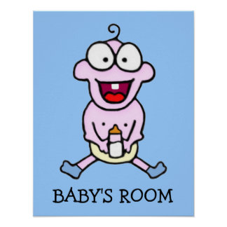 Happy Baby Poster