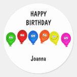 Happy Balloons, HAPPYBIRTHDAY, Stickers