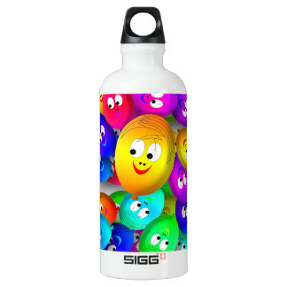 happy balloons water bottle