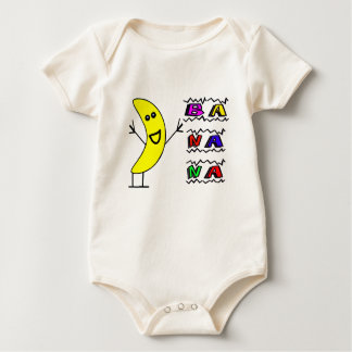 Happy Banana Baby Bodysuit