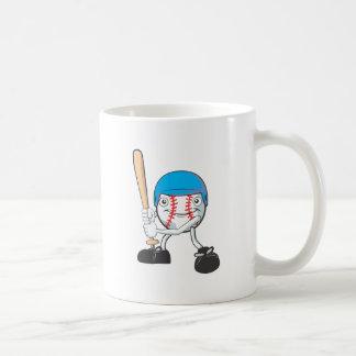 Happy Baseball Player Mug