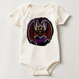 Happy Bat Babygrow Baby Bodysuit