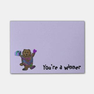 Happy Bear Classroom Post-it® Notes