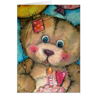 Happy Bear-Day to YOU Card