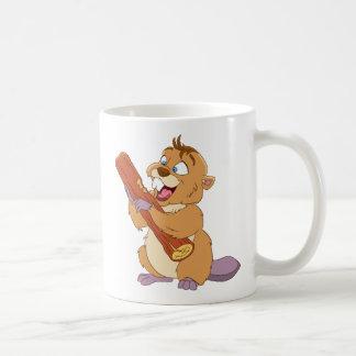 Happy Beaver Coffee Mug