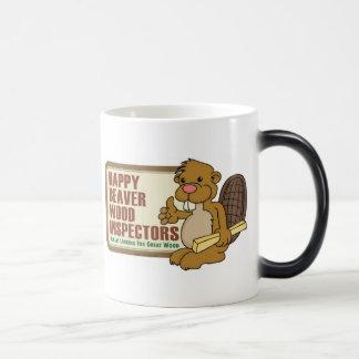 Happy Beaver Drinkware 2 Morphing Mug