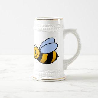 Happy Bee Beer Stein
