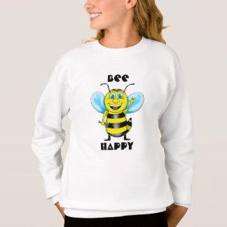 Happy Bee Girls Sweatshirt
