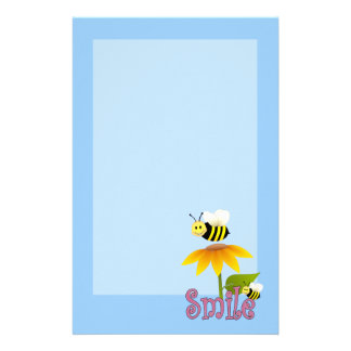 Happy Bee Customised Stationery