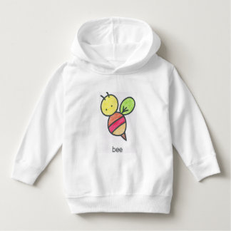 Happy Bee, Toddler Pullover Hoodie