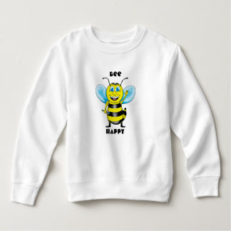 Happy Bee Toddler Sweatshirt