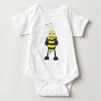 Happy Bee with Gesture of Approval T-shirts