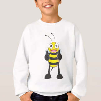 Happy Bee with Gesture of Approval Tshirts