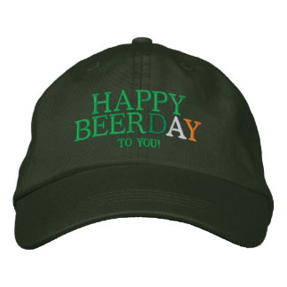 Happy BEERday to you! Embroidered Baseball Cap
