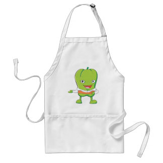 Happy Bell Pepper Customer Service Personnel Apron