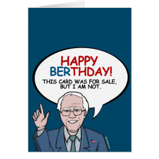 Happy Berthday - I am not for sale Greeting Card