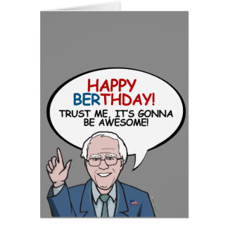 Happy Berthday: It's gonna be awesome Greeting Card