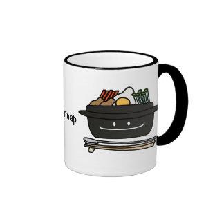 Happy Bibimbap Bowl Coffee Mugs
