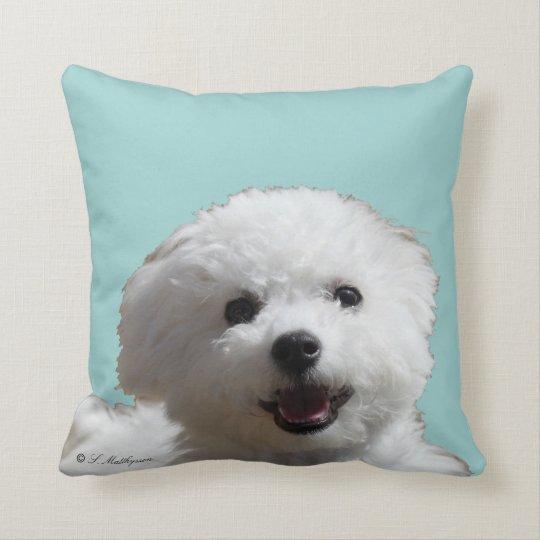 Happy Bichon Pillow