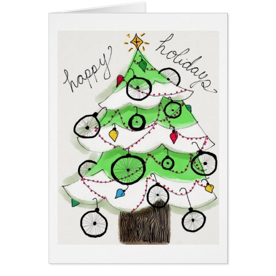 Happy Bike Holidays Card