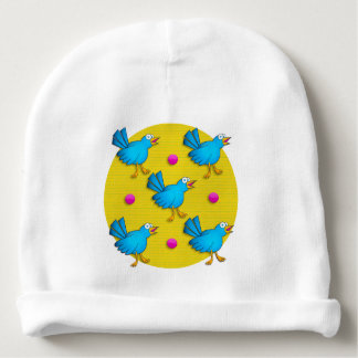 Happy Birds Baby Beanie