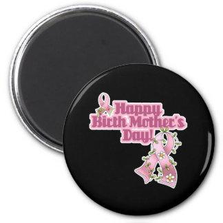 Happy Birth Mothers Day 6 Cm Round Magnet