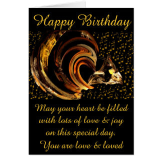 Happy Birthday #1_Card Note Card