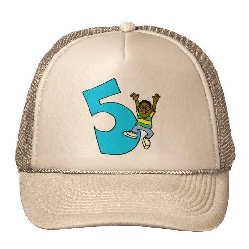 Happy Birthday 5th Birthday Gifts Trucker Hat