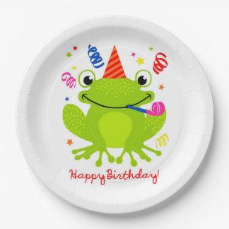 Happy Birthday 9 Inch Paper Plate