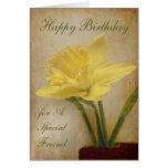Happy Birthday, A Special Friend Card