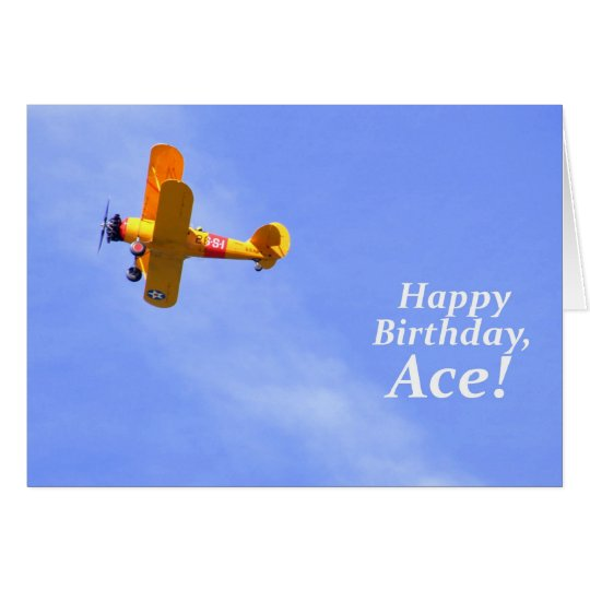 Happy Birthday, Ace! Card