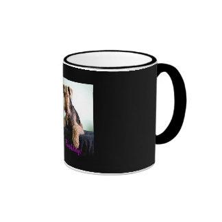 Happy Birthday Airedale Mug