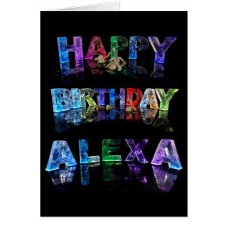 Happy Birthday Alexa Card
