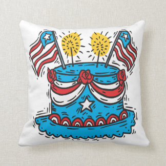 Happy Birthday America Cushion