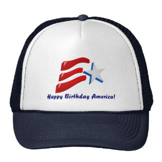 Happy Birthday America! Hats