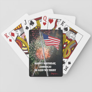 Happy Birthday America! Playing Cards