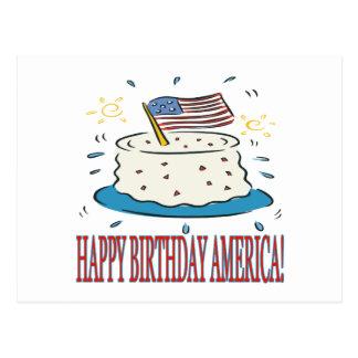 Happy Birthday America Post Cards