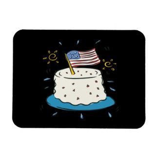 Happy Birthday America Rectangle Magnet