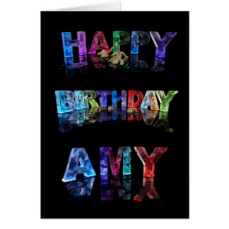 Happy Birthday Amy Card