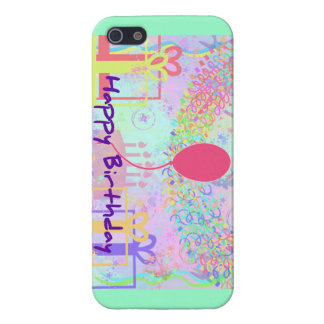 Happy Birthday and Best Wishes One Ballon iPhone 5 Covers