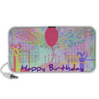 Happy Birthday and Best Wishes One Ballon Laptop Speaker
