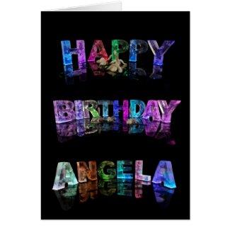 Happy Birthday Angela Card