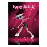 Happy Birthday - Anyone For Tennis? Greeting Card