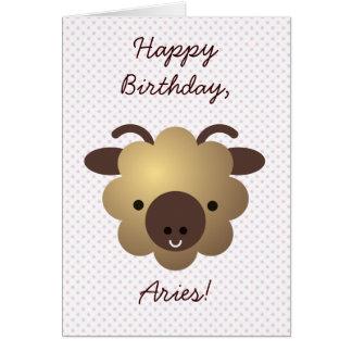 Happy Birthday, Aries! Greeting Card