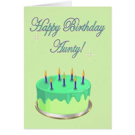 Happy Birthday Aunty Cake