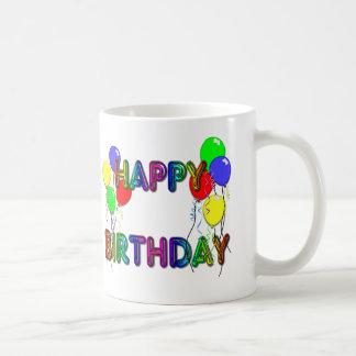 Happy Birthday Ballons D1 Coffee Mug