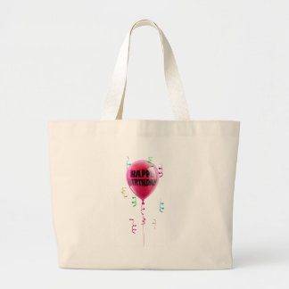 Happy Birthday balloon Tote Bags