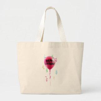 Happy Birthday balloon Tote Bags
